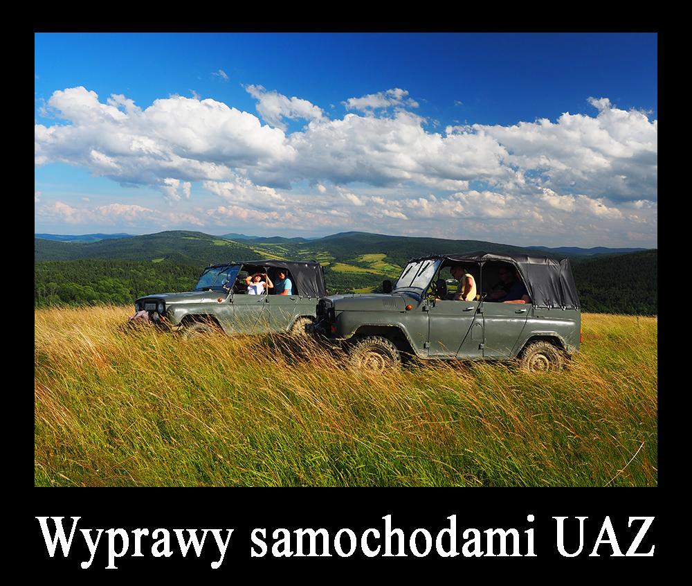 Wycieczka samochodem terenowym UAZ 4x4 po pograniczu Bieszczad i Beskidu Niskiego z przewodnikiem.jpg