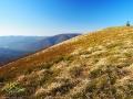 WORWOSOKA 1024m to jeden z niepowtarzalnych szczytów wędrując po szlaku z Cisnej do Smereka.