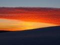 Kolory na niebie po zachodzie słońca nad Bieszczadami...