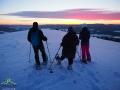 Na szczycie Białego Wierchu 597m z panoramą 360 stopni.