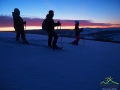 Na rakietach śnieżnych z widokiem na Rzepedkę, wyciąg narciarski w Karlikowie, Tokarnię oraz stadninę koni Tarpan w Wysoczanach.