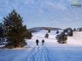 Na rakietach śnieżnych po Połoninach Pogórzańskich.