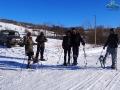 UAZ-em dojechaliśmy z klientami na przełęcz nad Turzańskiem.