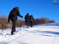 Wyprawa na rakietach śnieżnych na szczyt góry Suliła 759m.