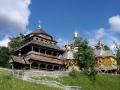 wycieczki Bieszczady ukraińskie - dzwonnica obronna w Jasienicy Zamkowej