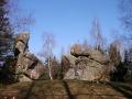 wycieczki Bieszczady ukraińskie - diabelski Kamień / Czartów Kamień w Spasie