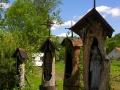 Bieszczadzkie kapliczki przydrożne u Zdzisława Pękalskiego w Hoczwi