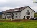Budynek bieszczadzkiego BROWARU Ursa Maior w Uhercach Mineralnych.