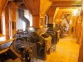 Jeden z 5 poziomów Muzeum Młynarstwa w Ustrzykach Dolnych.