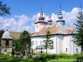 Murowana cerkiew w Smolniku z 1806r. podczas Traperskiej Przygody.