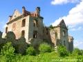 Ruiny klasztorne karmelitów bosych w Zagórzu.