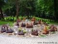 Miniatury świątyń w Centrum Ekumenicznym w Myczkowcach.