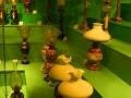 Lampy naftowe w skansenie przemysłu naftowego w Bóbrce.