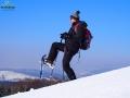 Na RAKIETACH ŚNIEŻNYCH w Bieszczadach - góry, widoki, po prostu wolność!