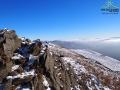 Widok z najwyższego punktu Połoniny Caryńskiej w stronę Tarnicy.
