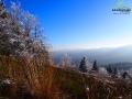 Kolory na ziemi i niebie schodząc z Połoniny Caryńskiej na Przełęcz Wyżniańską.