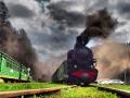 Ruszyła na tory lokomotywa...