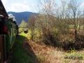Kolejka dojeżdżająca do góry Matragona 990m - na jej stokach źródła mają rzeka Osława i Solinka.