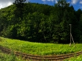 Zdjęcie panoramiczne u podnóża góry Matragona 991m.