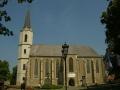 WĘGRY wycieczka - Sarospatak - kościół z relikwiami św. Elżbiety