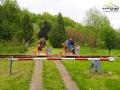 Dawniej tymi torami jeździły pociągi na trasie Zagórz - Ustrzyki Dolne, a dziś ponownie odżyły za sprawą drezyn rowerowych!
