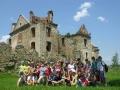 BIESZCZADY - ruiny klasztorne karmelitów bosych w Zagórzu