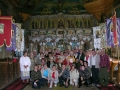 BIESZCZADY - ikonostas w cerkwi w Turzańsku