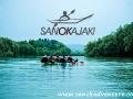 KAJAKI w Bieszczadach na rzece San 1
