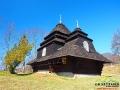 Cerkiew św. Michała Archanioła w Użoku jest najdalej położoną na południe cerkwią bojkowską.