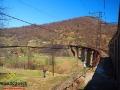 Jeden z najwyższych wiaduktów na linii kolejowej prowadzącej z Wołosianki do Sianek.