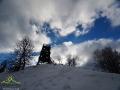Ostatnie spojrzenie na wieżę widokowę na szczycie Korbani i pora wracać do rzeczywistości...