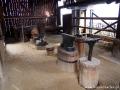 Wnętrze hamora działającego w Medzevie (zwiedzanie na zamówienie grup).