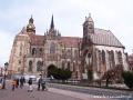 Dom - katedra św. Elżbiety patronki Koszyc budowana od 1380 roku, z nagrobkiem Franciszka II Rakoczego!