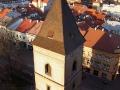 45-metrowa wieża Urbana z jedynym na Słowacji Muzeum Figur Woskowych.
