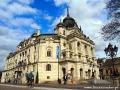 Štátne divadlo czyli Teatr Państwowy na rynku Koszyc.