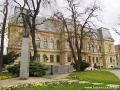 POMNIK MARATOŃCZYKA przed Muzeum Wschodniosłowackim upamiętniający najstarszy maraton w Europie.
