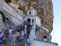 Wycieczka na KRYM - monastyr Uspieński przy drodze do Czufut - Kale