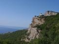 Wycieczka na KRYM - cerkiew na skale