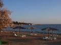 Wycieczka na KRYM - plaża w jednej z zatok Sewastopola nad Morzem Czarnym