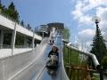 wycieczki KRYNICA - rajskie ślizgawki na górze parkowej w Krynicy