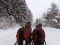 Z tej perspektywy też Bieszczady zimą wyglądają cudownie!