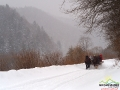 W Bieszczadach zimą nie brakuje atrakcji!