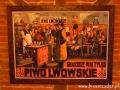 PIWO LWOWSKIE na ścianach KUMPLA we Lwowie.