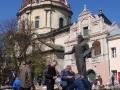 Wycieczka LWÓW - kościół dominikanów i pomnik I drukarza Fiodorowa