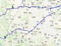 Wycieczka do Lwowa z Bieszczad - mapa dojazdu i powrotu Biura Podróży BIESZCZADER.