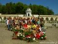 Zdjęcie grupowe na Cmentarzu Łyczakowskim.