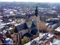 Panorama Lwowa widziana z wieży ratuszowej.