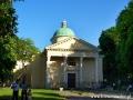 Biblioteka Ossolineum we Lwowie naprzeciw Galerii Obrazów.