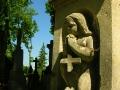 Anioły na Cmentarzu Łyczakowskim.