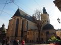 KATEDRA ŁACIŃSKA – jeden z najstarszych kościołów Lwowa zbudowany na przełomie XIV i XV wieku.